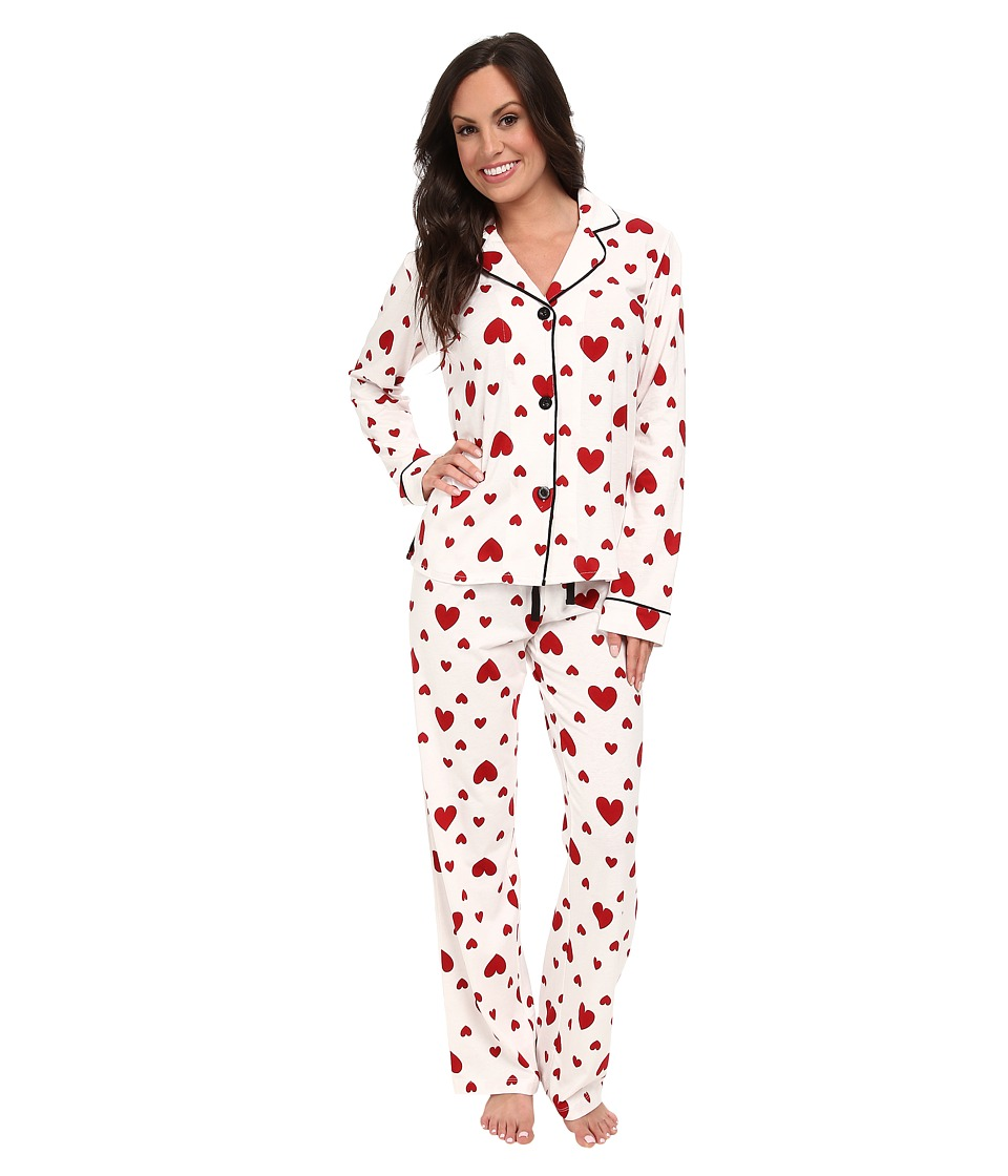 P.J. Salvage - Giftables Heart Pajama Set (Ivory) Women's Pajama Sets