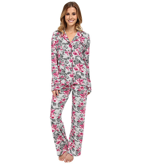 P.J. Salvage - Floral Lace Pajama Set (Ivory) Women