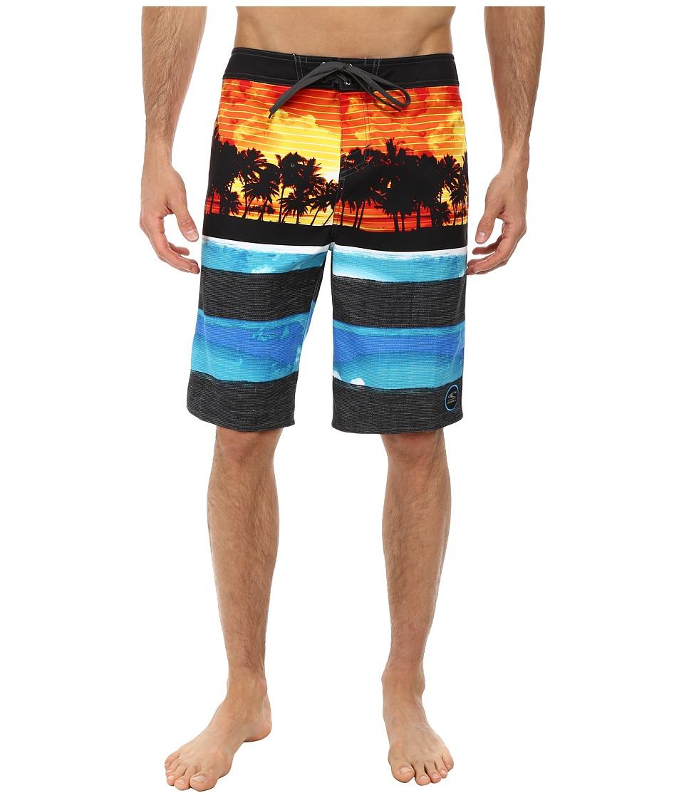 O'Neill - Ambivalent Boardshorts (Orange) Men's Swimwear