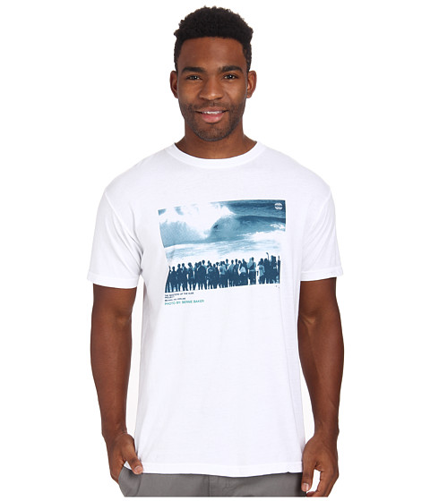 O'Neill - Banks S/S Screen Tee (White) Men's T Shirt
