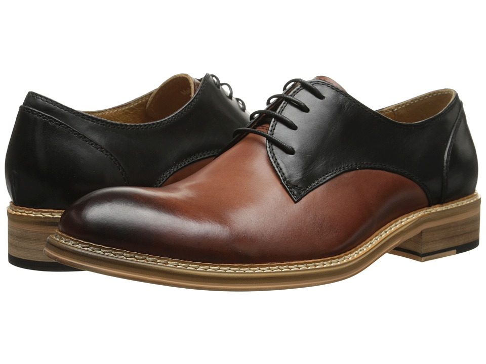 PRIVATE STOCK - The Horsham Shoe (Brown/Black) Men's Lace up casual Shoes