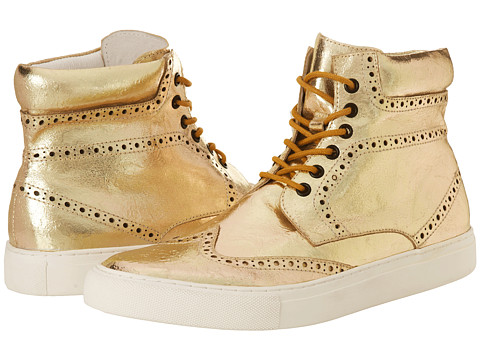PRIVATE STOCK - The Eyrie Sneaker (Gold) Men's Shoes