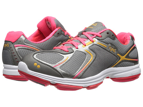 Ryka - Devotion (Frost Grey/Metallic Steel Grey/Coral Rose/Orange Ice) Women's Shoes