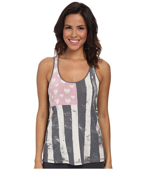 P.J. Salvage - Love More Sleep Tank (Grey) Women