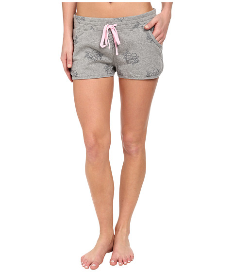 P.J. Salvage - Love More Sleep Short (Heather Grey) Women