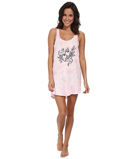 P.J. Salvage - Love More Dress Chemise (Pink) Women's Pajama