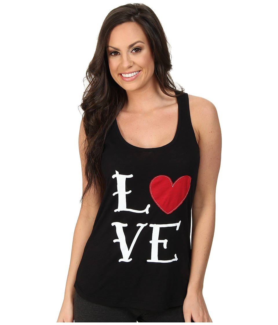 P.J. Salvage - Giftables Love Sleep Tank (Black) Women's Pajama