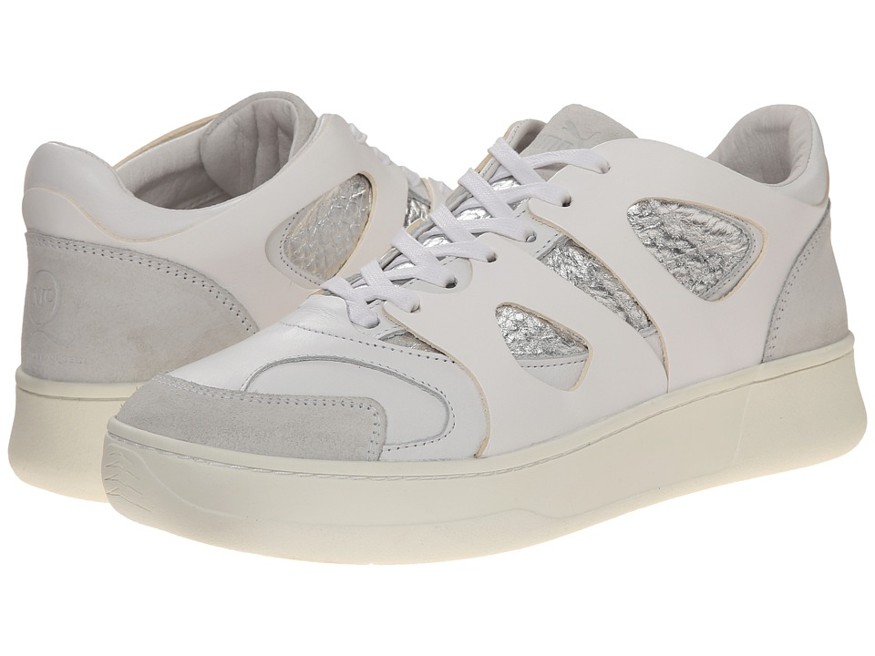 PUMA Sport Fashion - McQ Move Lo (White/Silver Metallic) Men's Lace up casual Shoes