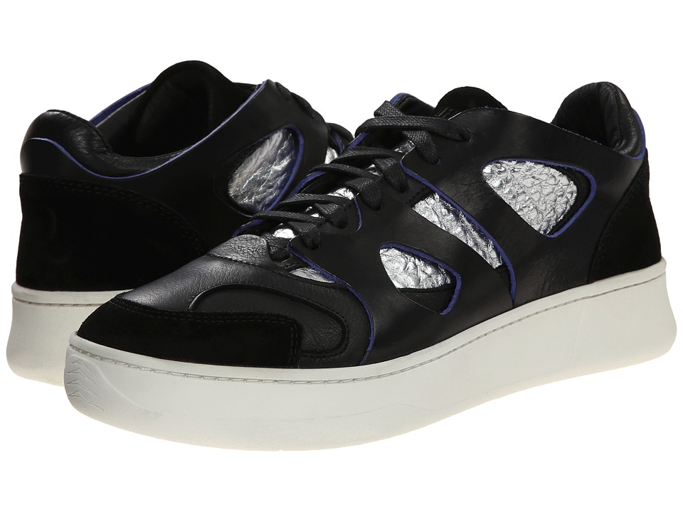 PUMA Sport Fashion - McQ Move Lo (Black/Silver Metallic) Men's Lace up casual Shoes