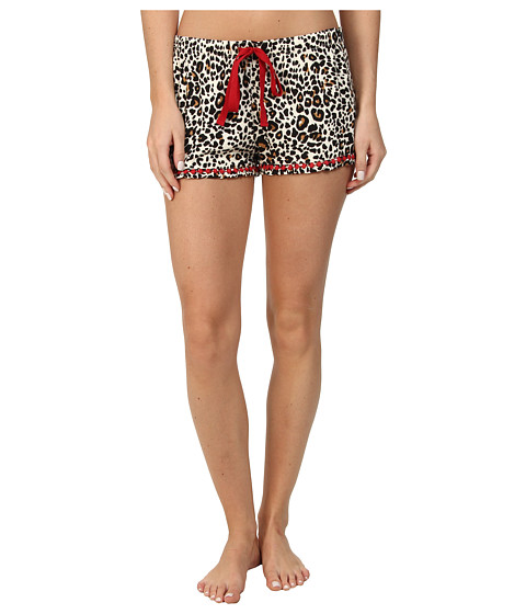 P.J. Salvage - Giftables Leopard Sleep Short (Natural) Women's Pajama