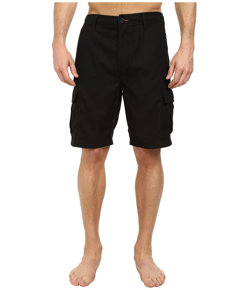 O'Neill - Cavalry Hybrid Shorts (Black) Men's Shorts