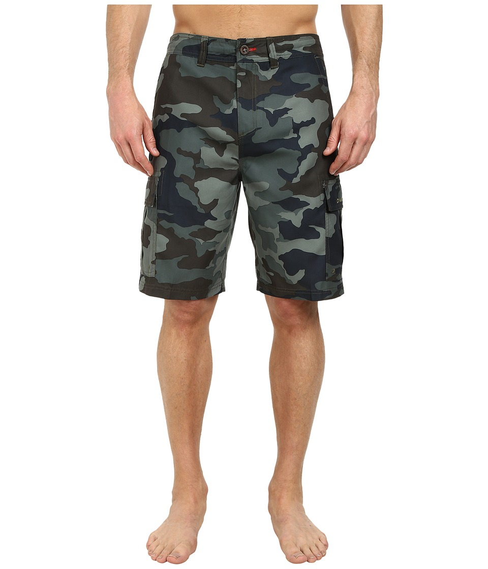 O'Neill - Cavalry Hybrid Shorts (Military Green) Men's Shorts