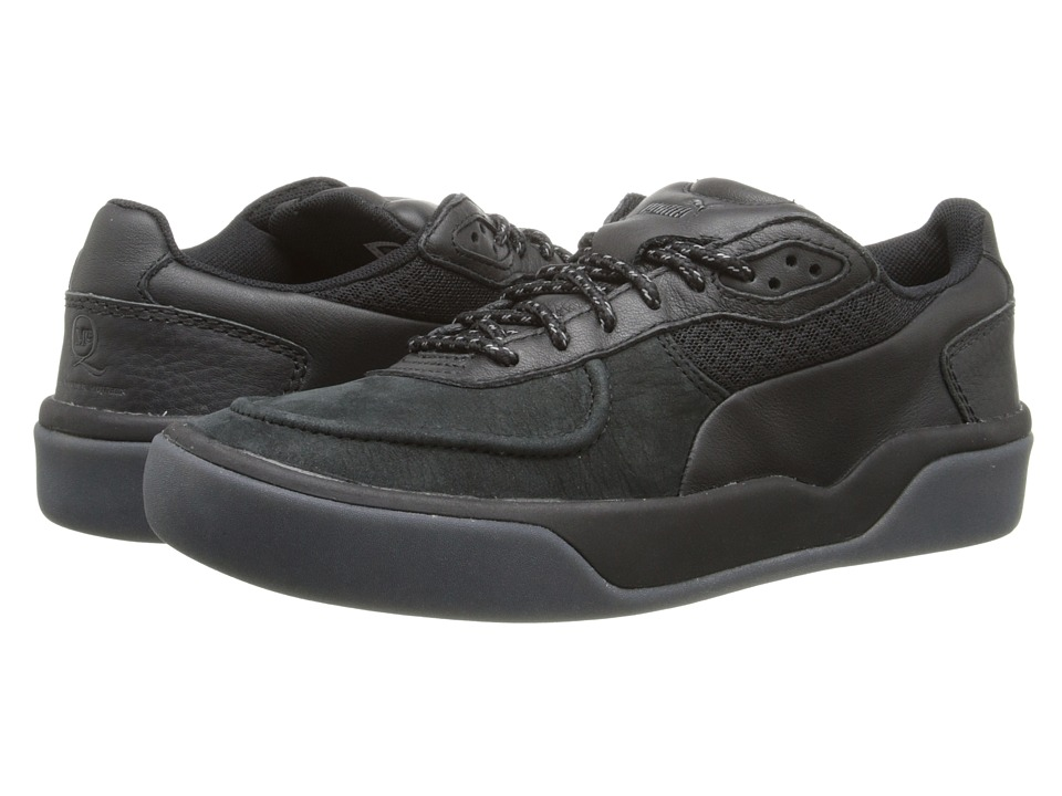 PUMA Sport Fashion - MCQ Brace Low Nubuck (Black) Men's Lace up casual Shoes