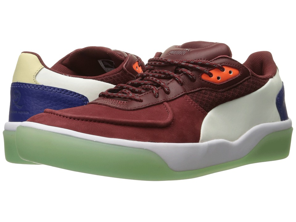 PUMA Sport Fashion - MCQ Brace Low (Syrah/Transparent Yellow) Men