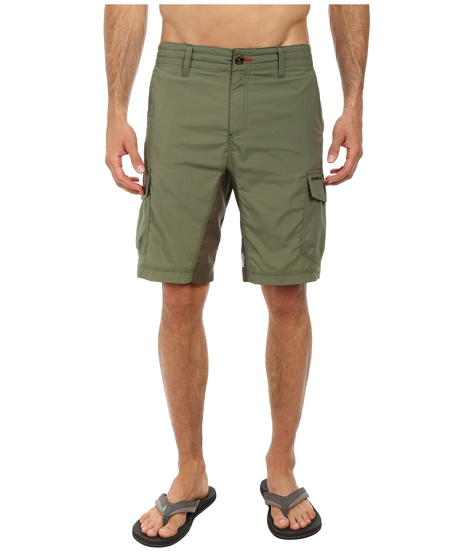 O'Neill - Traveler Hybrid Short (Olive) Men's Swimwear