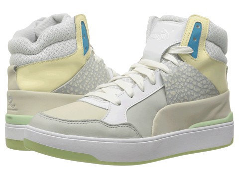 PUMA Sport Fashion - MCQ Brace Femme Mid (White/Whisper White) Women