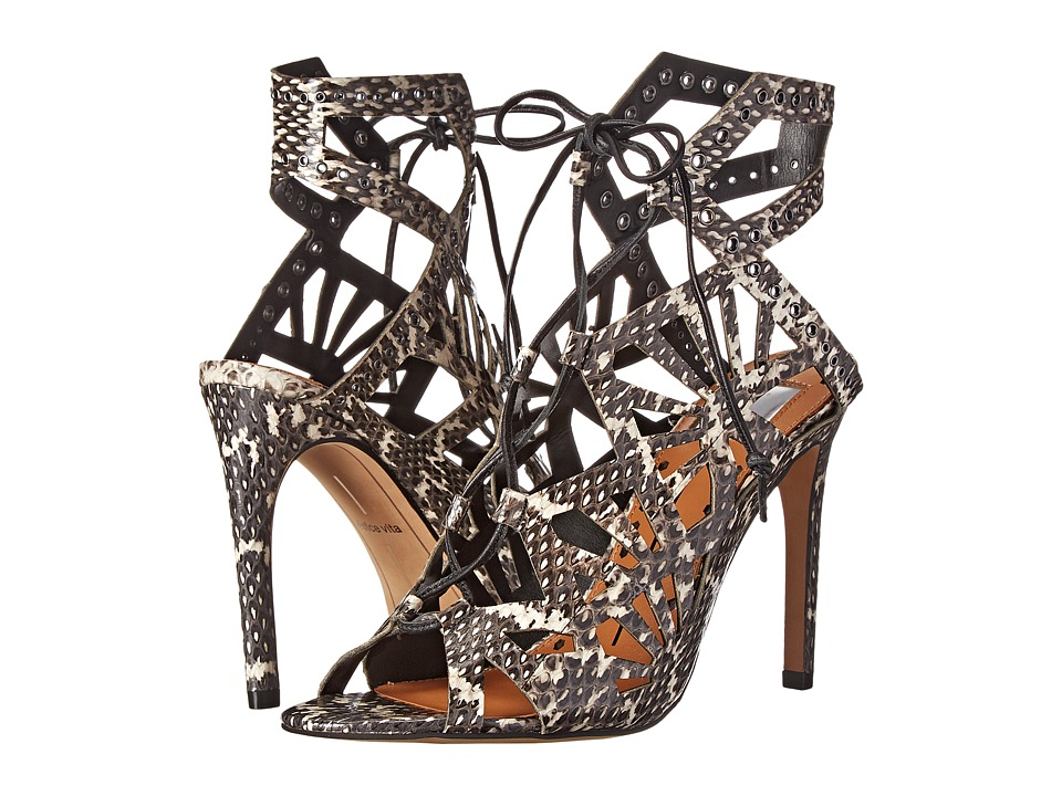 Dolce Vita - Helena (Black/White Snake) High Heels