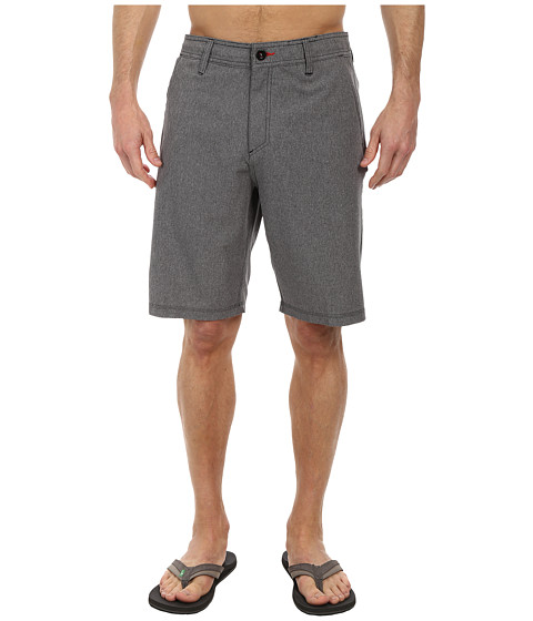 O'Neill - Heather Hybrid Freak Shorts (Black) Men's Shorts