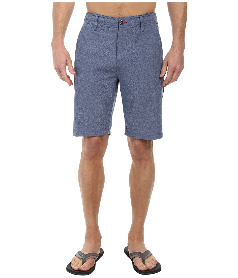 O'Neill - Heather Hybrid Freak Shorts (Deep Blue) Men's Shorts