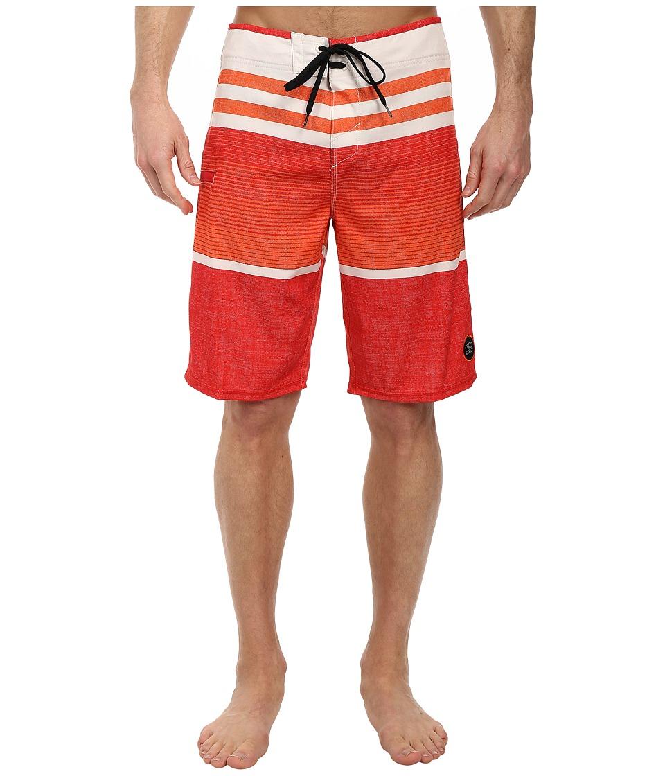 O'Neill - Heist Boardshorts (Red) Men's Swimwear