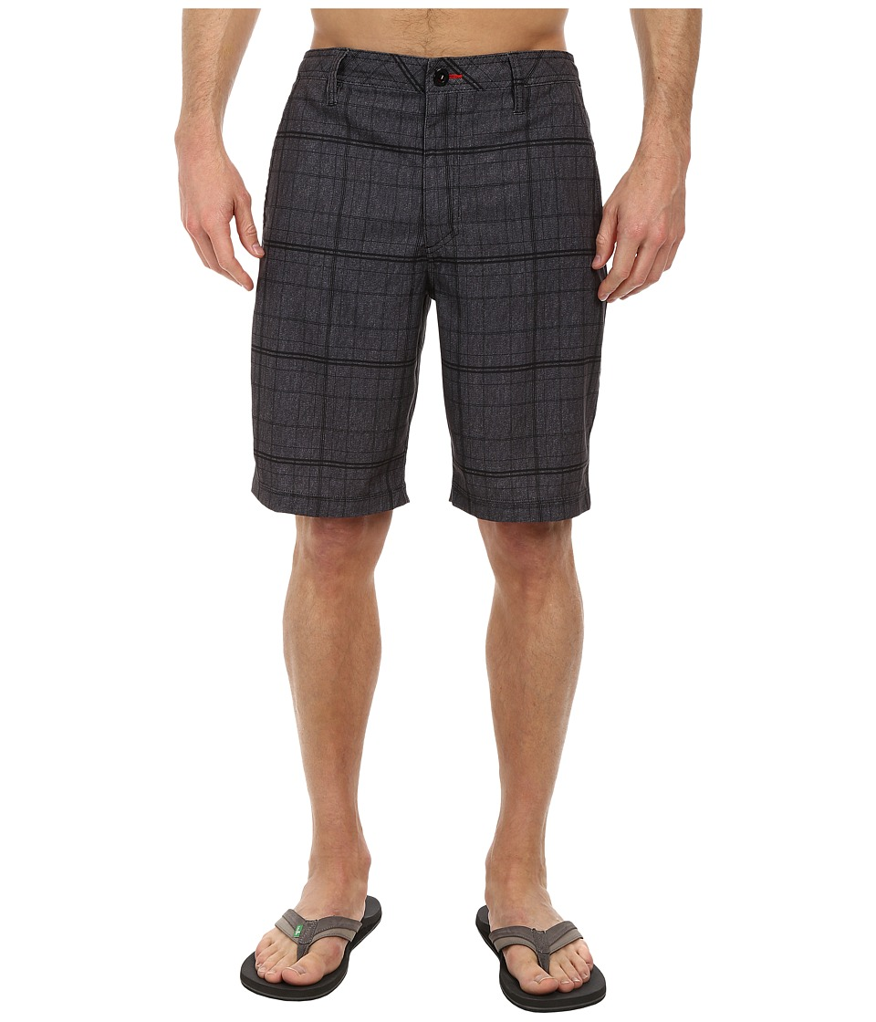O'Neill - Hybrid Freak Boardshorts (Black) Men's Shorts