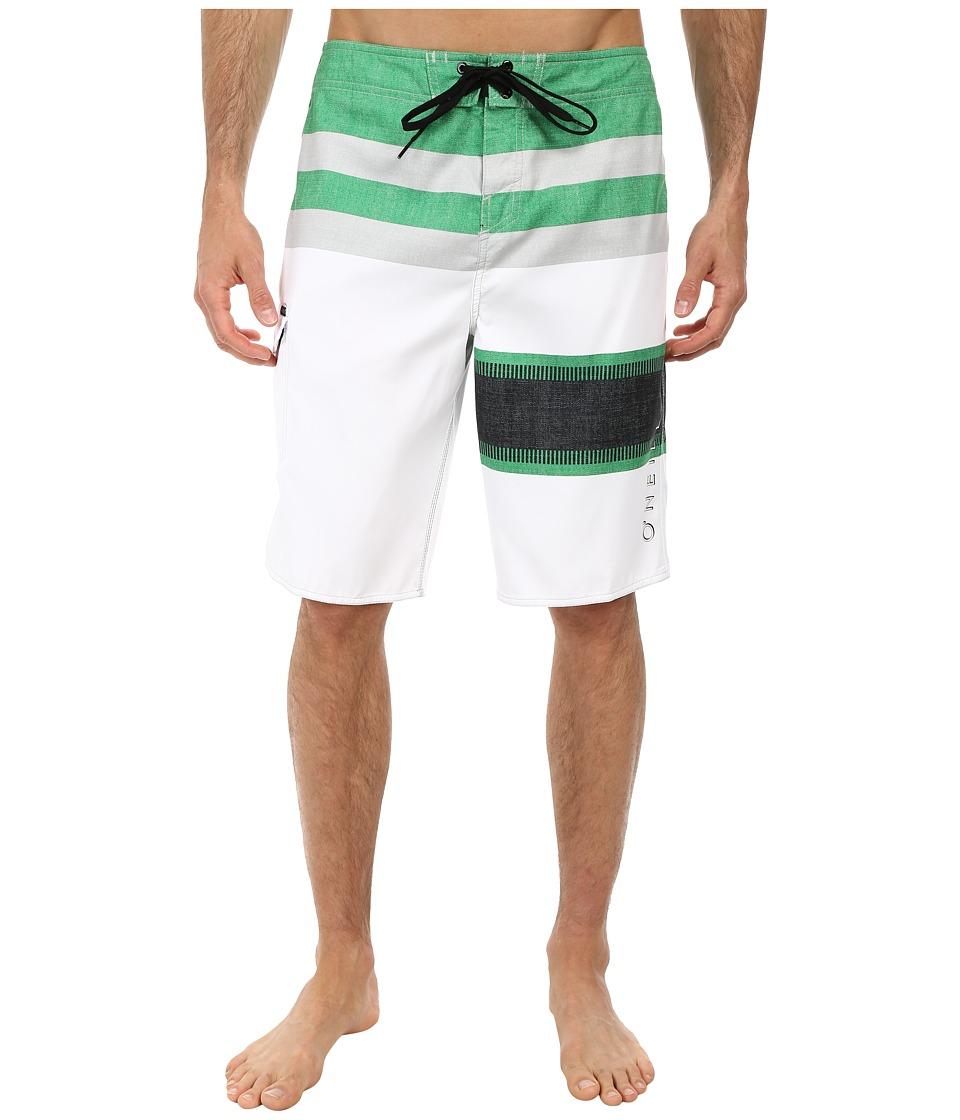 O'Neill - Lennox Boardshorts (Green) Men's Swimwear