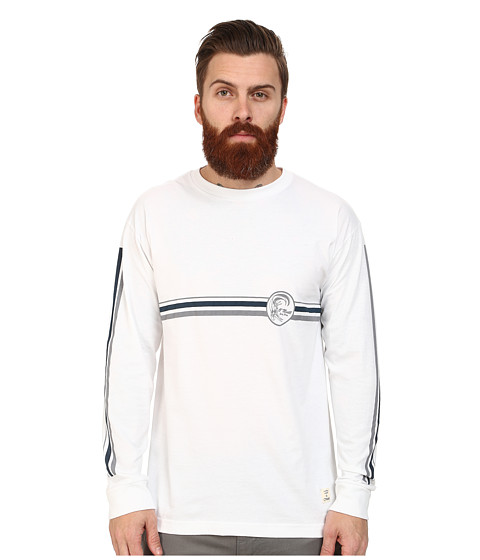 O'Neill - Monday L/S Screen Tee (White) Men's T Shirt