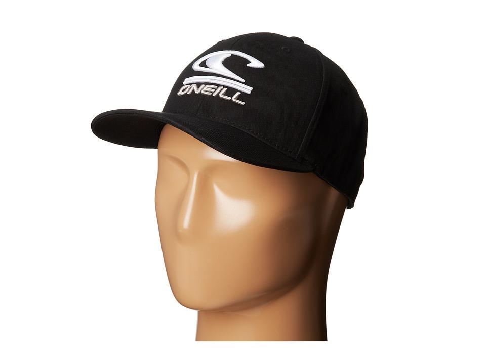 O'Neill - Limpio Y Malo Baseball Caps (Black) Baseball Caps
