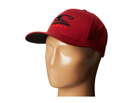 O'Neill - Limpio Y Malo Baseball Caps (Deep Red) Baseball Caps