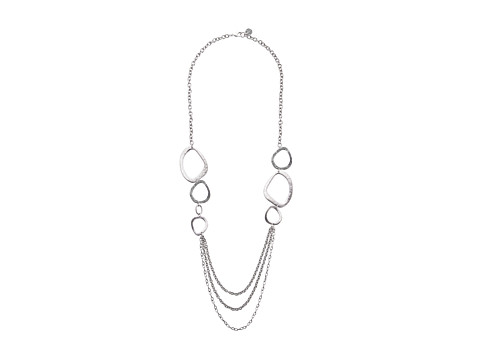 The Sak - Get Conected Linked Chain Necklace (Silver) Necklace