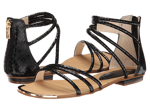 Isola - Marisa (Black Snake Print) Women's Sandals