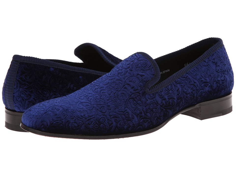 Mezlan - Dresden (Blue) Men's Slip-on Dress Shoes