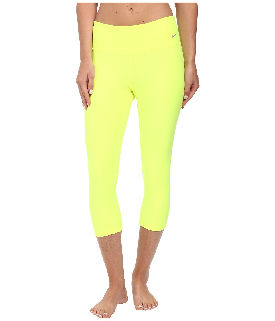 Nike Golf - Pro Tights (Volt/Wolf Grey) Women's Workout