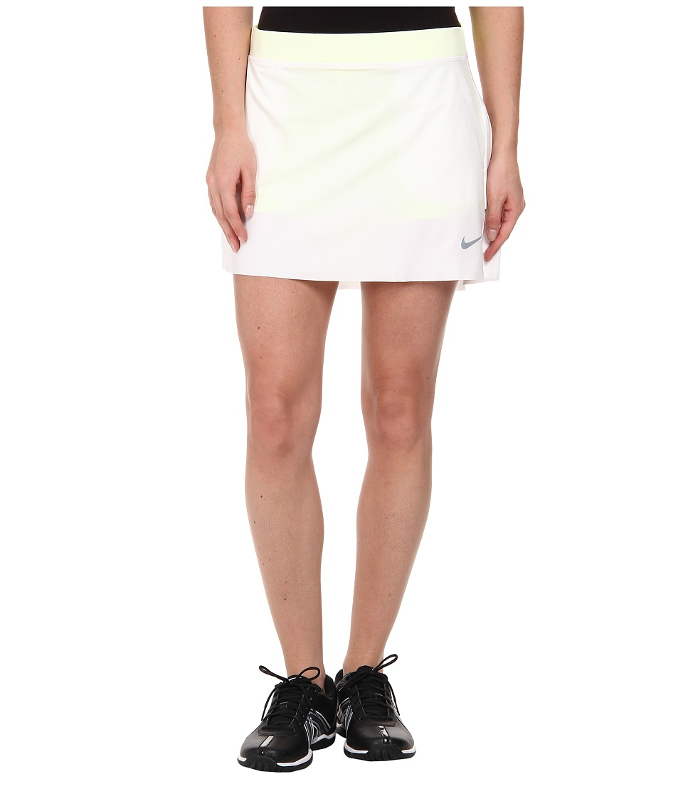 Nike Golf - Innovation Links Skort (White/Volt/Dove Grey) Women's Skort