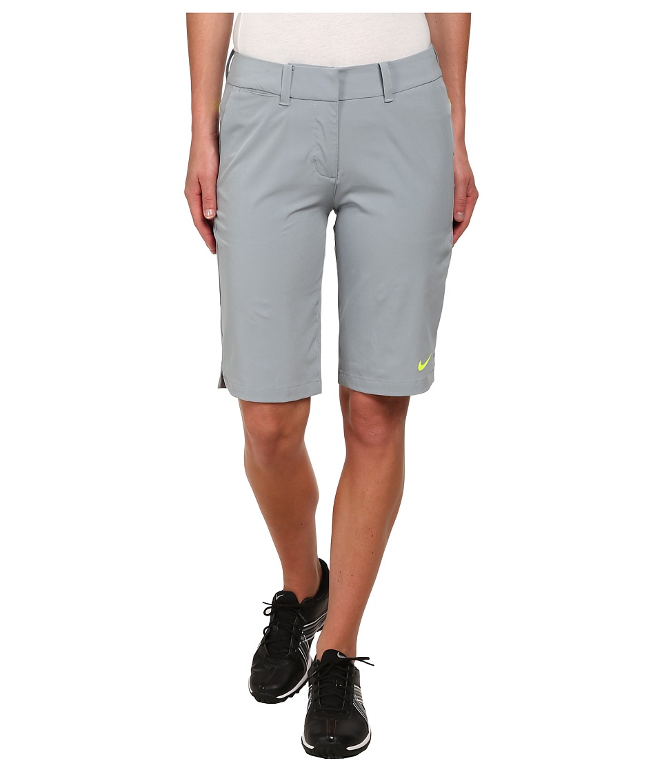 Nike Golf - Seasonal Woven Short (Dove Grey/Volt/Volt) Women's Shorts