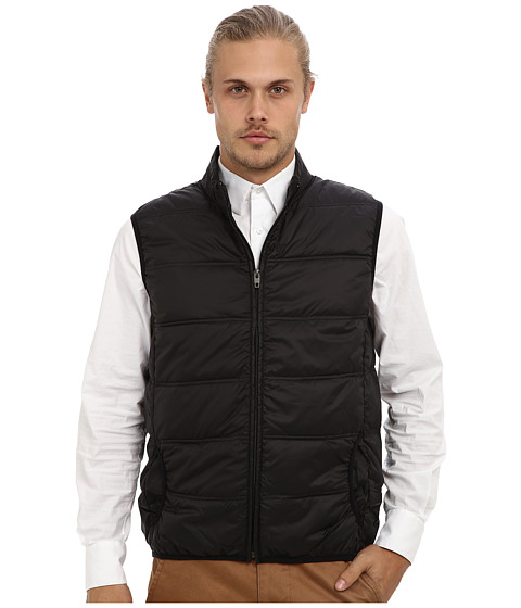 French Connection - Off Piste Vest (Black) Men's Vest