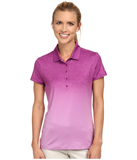 Nike Golf - Fade Polo (Bold Berry/Violet Shock/White) Women