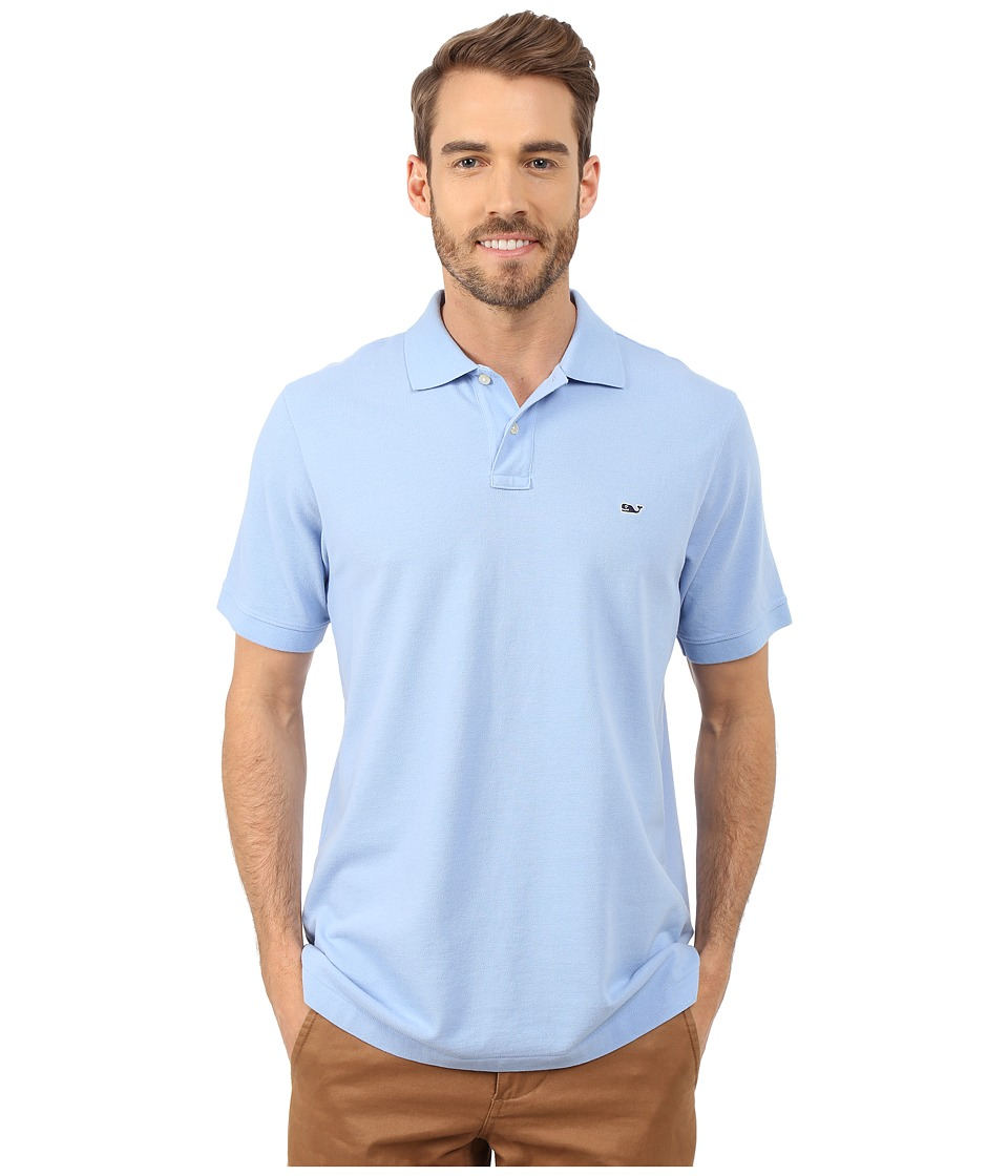 Vineyard Vines - Classic Piqu Polo (Hydrangea) Men's Short Sleeve Knit