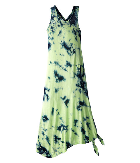 Young Fabulous & Broke Mini - Knotted Maxi (Little Kids/Big Kids) (Navy/Lime Sherbert) Girl