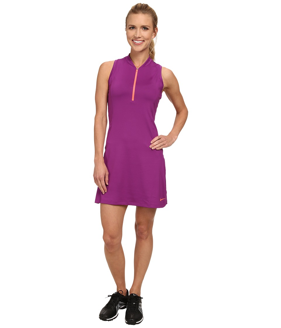 Nike Golf - Sleeveless Golf Dress (Bold Berry/Hot Lava/Hot Lava) Women's Dress