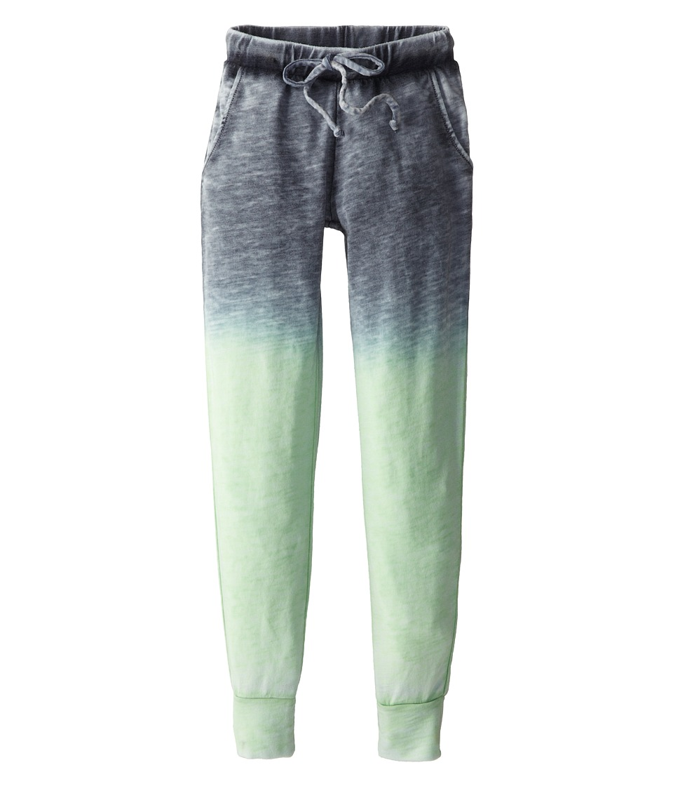 Young Fabulous & Broke Mini - Khan Pant (Little Kids/Big Kids) (Navy/Lime Ombre) Girl's Casual Pants