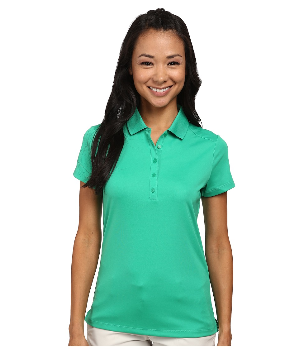 Nike Golf - Victory S/S Polo (Stadium Green/White) Women's Short Sleeve Pullover