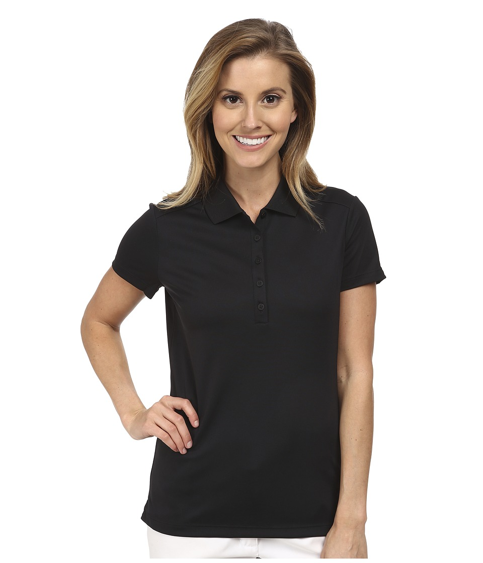 Nike Golf - Victory S/S Polo (Black/White) Women's Short Sleeve Pullover