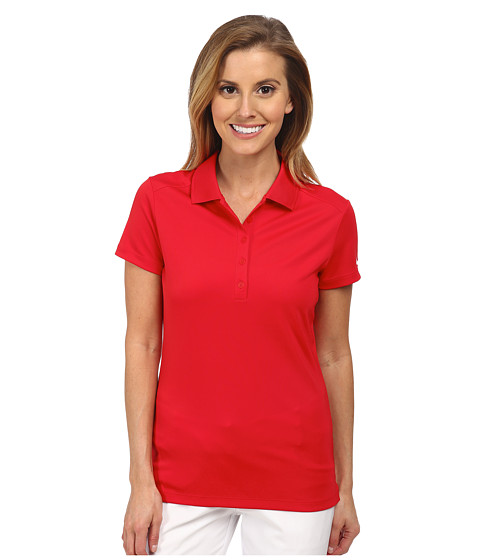 Nike Golf - Victory S/S Polo (University Red/White) Women