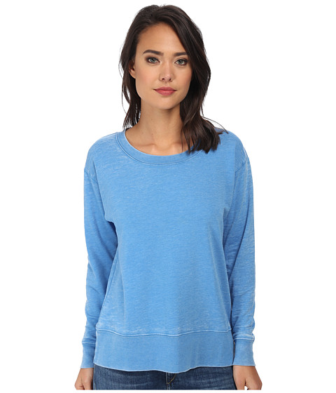 Allen Allen - L/S Sweatshirt (Blue Astor) Women's Sweater