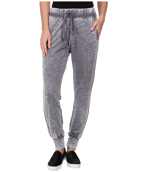 Allen Allen - Cuffed Sweat Pant (Flint) Women