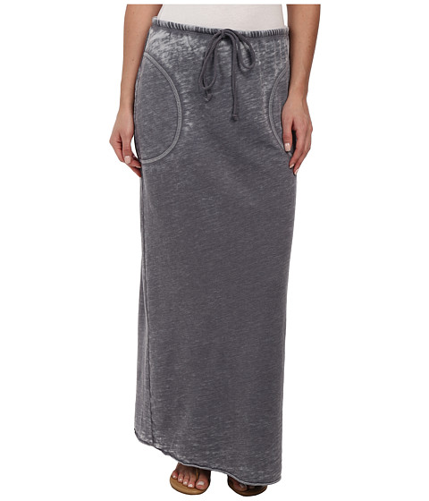 Allen Allen - Long Skirt (Flint) Women's Skirt