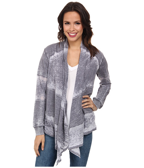 Allen Allen - Wrap (Flint) Women's Sweater