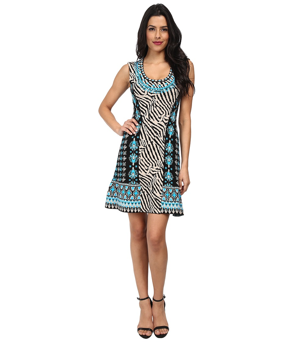 Nanette Lepore - Safari Sheath (Lagoon Multi) Women's Dress
