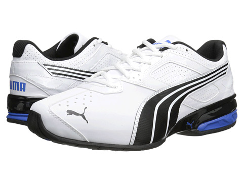 PUMA - Tazon 5 NM (White/Black/Strong Blue) Men's Running Shoes